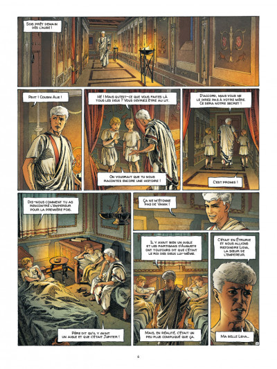 Page 4 Alix Senator - édition deluxe tome 10