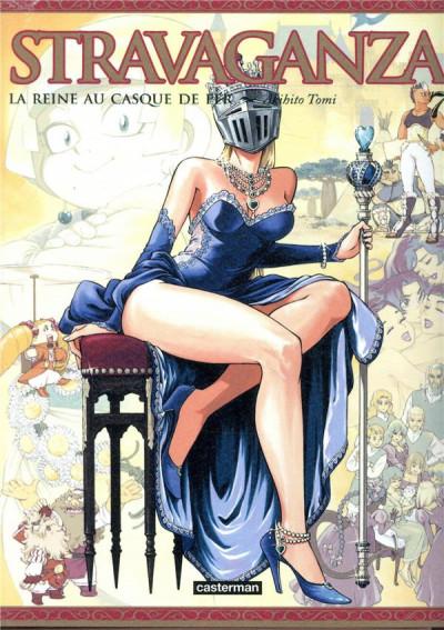 Couverture Stravaganza - la reine au casque de fer tome 7