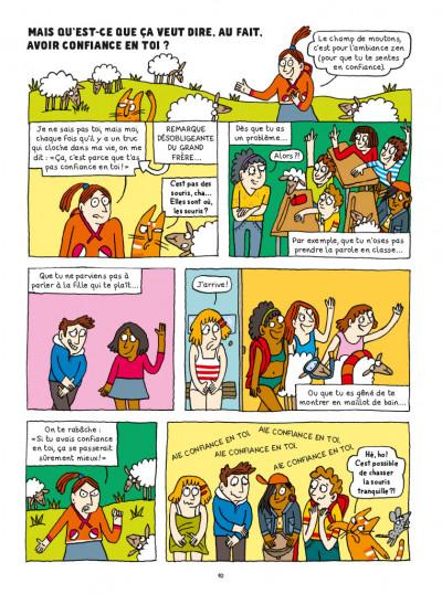 Page 1 La BD qui t'aide à avoir confiance en toi