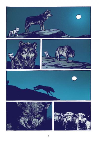 Page 2 Le loup + ex-libris offert