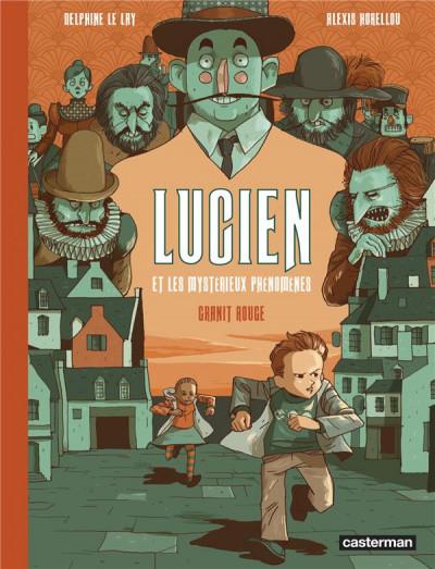 Couverture Lucien et les mystérieux phénomènes tome 2
