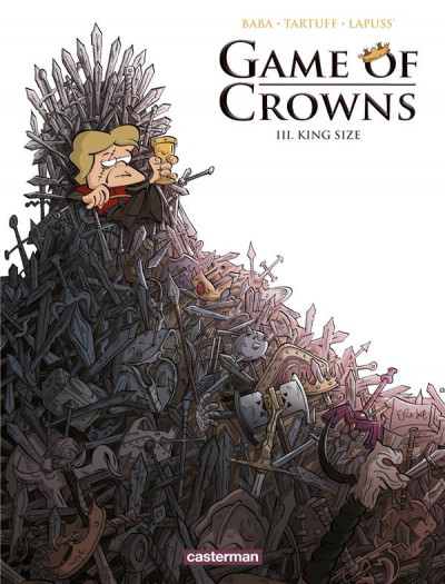 Couverture Game of crowns tome 3