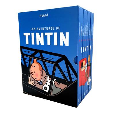 Couverture Tintin - coffret intégrale (2019)