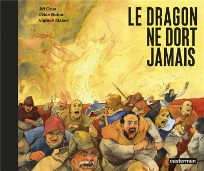 Couverture Le dragon ne dort jamais