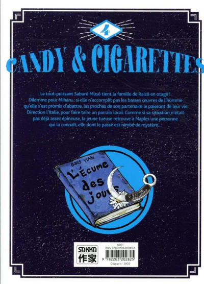 Dos Candy & cigarettes tome 4