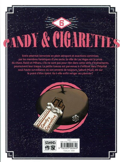 Dos Candy & cigarettes tome 6