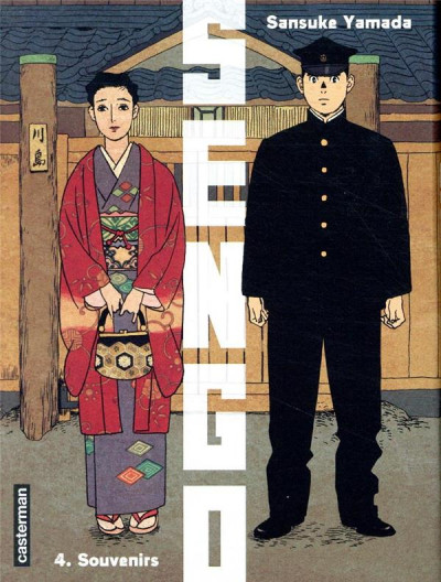 Couverture Sengo tome 4