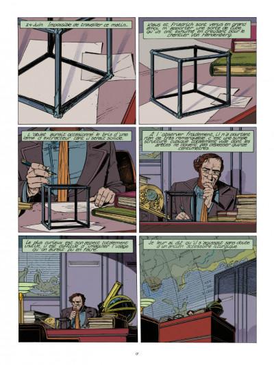 Page 1 Les cités obscures - La fièvre d'urbicande (éd. couleur)