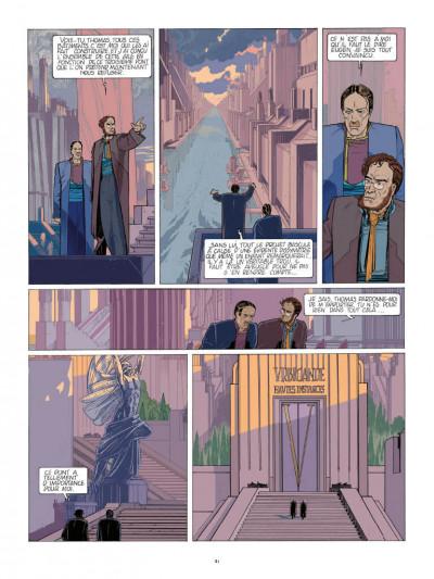 Page 5 Les cités obscures - La fièvre d'urbicande (éd. couleur)