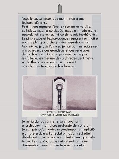 Page 9 Les cités obscures - La fièvre d'urbicande (éd. couleur)