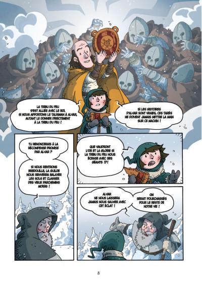 Page 4 voro, l'armee de la pierre de feu - t06 - cylce 2 - troisieme partie
