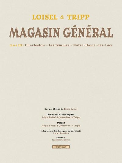 Page 4 Magasin général - intégrale tome 3