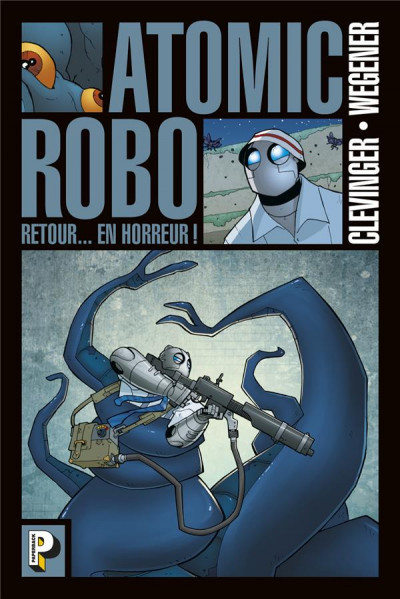 Couverture Atomic robo tome 3
