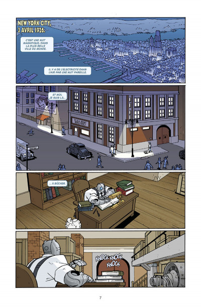 Page 8 Atomic robo tome 3