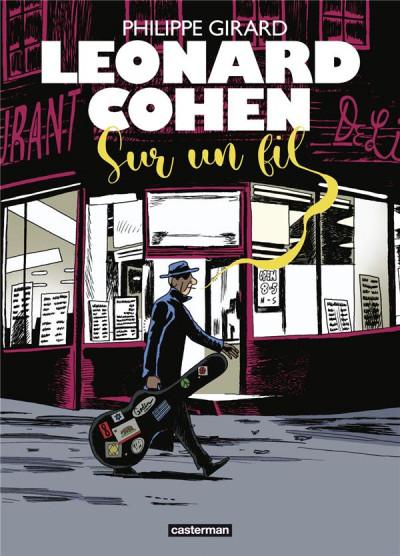 Couverture Leonard Cohen - Sur un fil