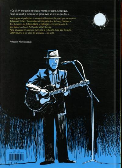 Dos Leonard Cohen - Sur un fil