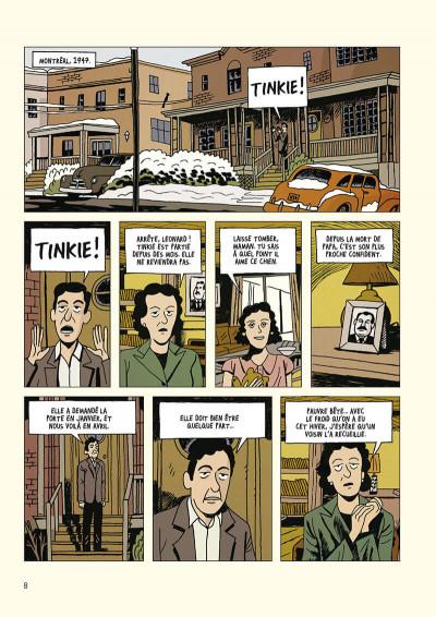 Page 9 Leonard Cohen - Sur un fil
