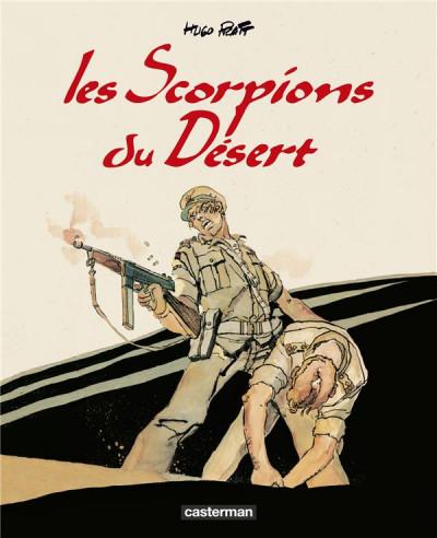 Couverture Les scorpions du désert - intégrale