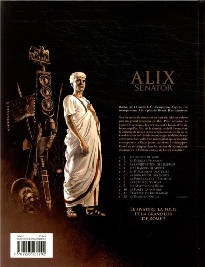 Dos Alix Senator tome 11