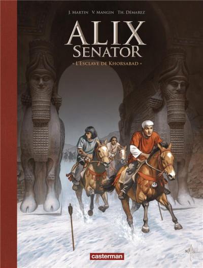 Couverture Alix Senator - édition deluxe tome 11