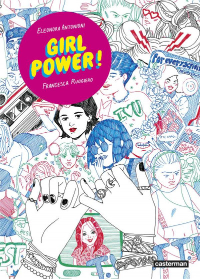 Couverture Girl power !