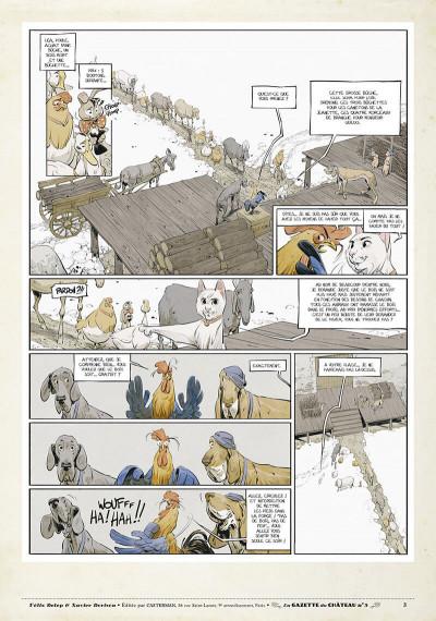 Page 2 Le château des animaux - gazette tome 5