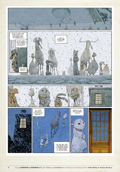 Page 3 Le château des animaux - gazette tome 5