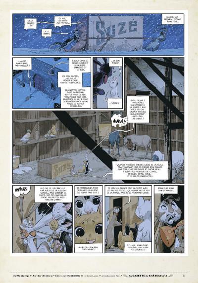 Page 4 Le château des animaux - gazette tome 5