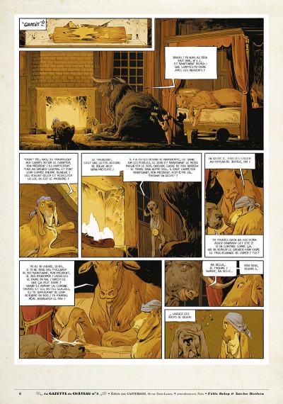 Page 5 Le château des animaux - gazette tome 5