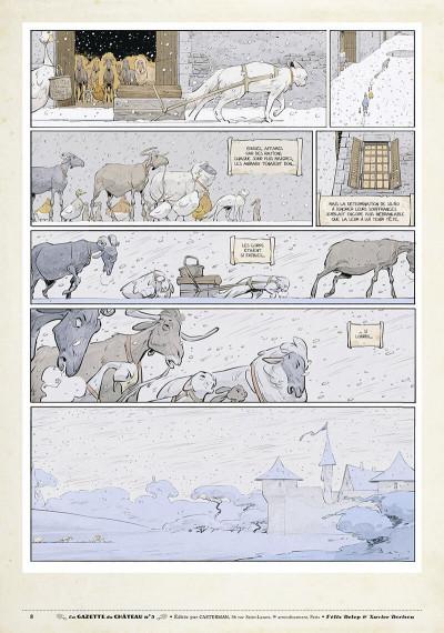 Page 7 Le château des animaux - gazette tome 5