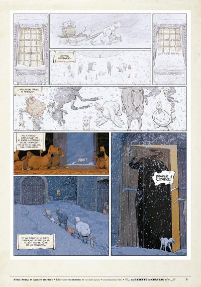 Page 8 Le château des animaux - gazette tome 5