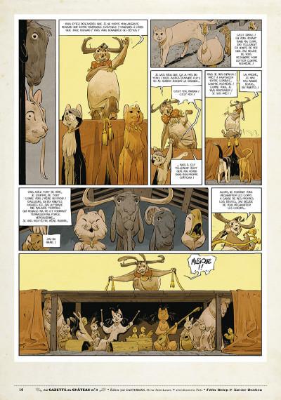 Page 9 Le château des animaux - gazette tome 5