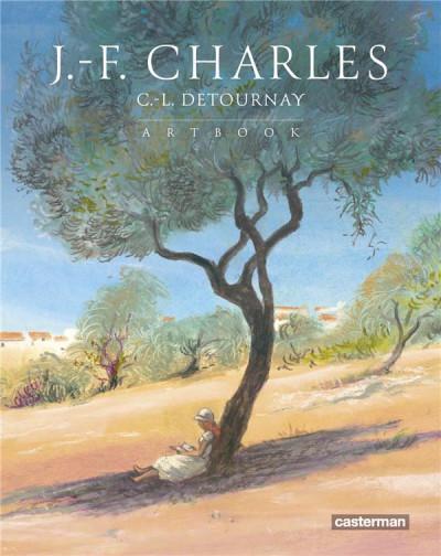 Couverture Jean-François Charles - artbook