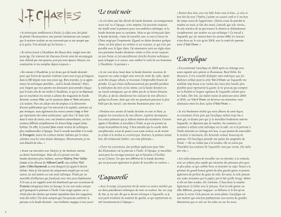 Page 5 Jean-François Charles - artbook