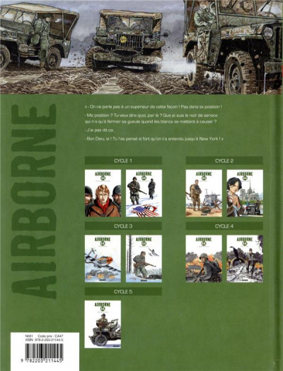 Dos Airborne 44 tome 9