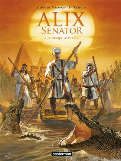 Couverture Alix Senator tome 12