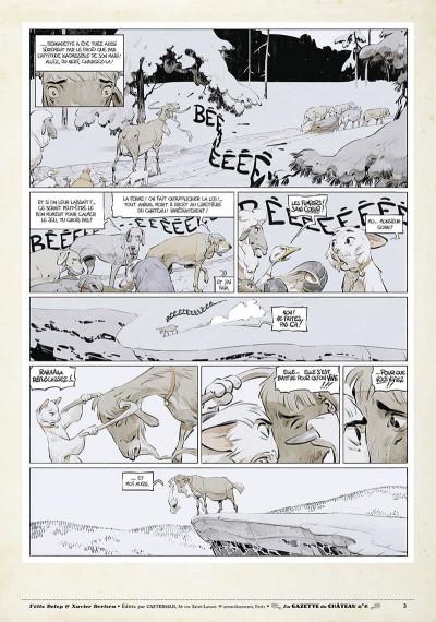 Page 2 Le château des animaux - gazette tome 6