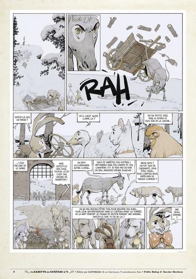 Page 3 Le château des animaux - gazette tome 6