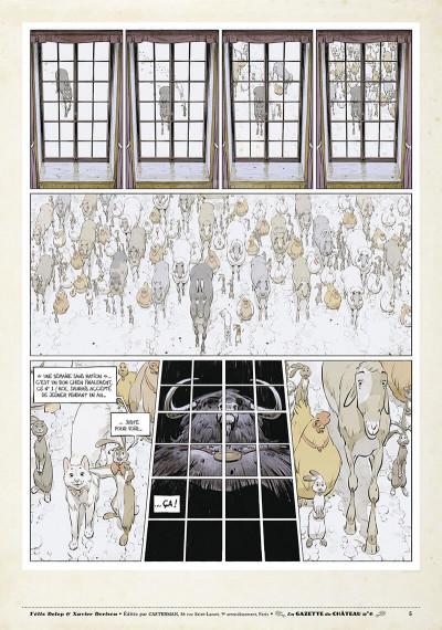 Page 4 Le château des animaux - gazette tome 6