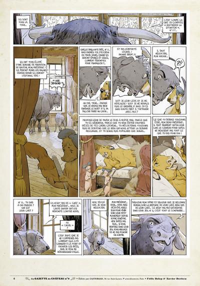 Page 5 Le château des animaux - gazette tome 6