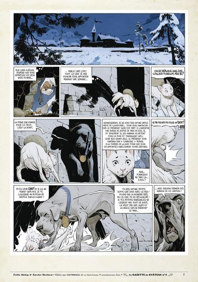 Page 6 Le château des animaux - gazette tome 6