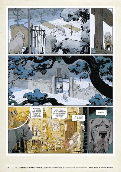 Page 7 Le château des animaux - gazette tome 6