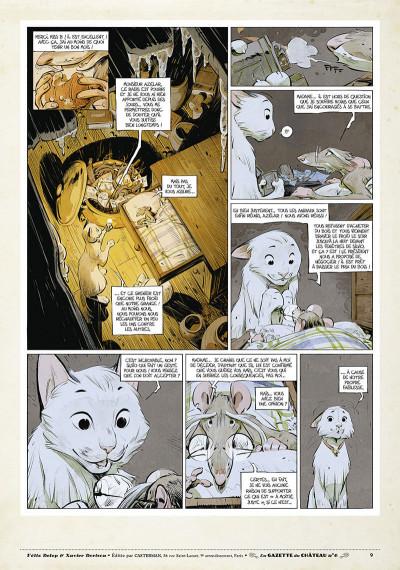 Page 8 Le château des animaux - gazette tome 6
