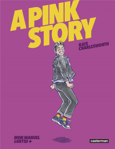 Couverture A pink story