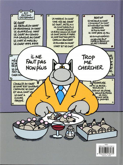 Dos Le chat tome 23