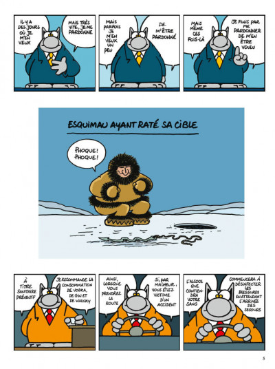 Page 5 Le chat tome 23