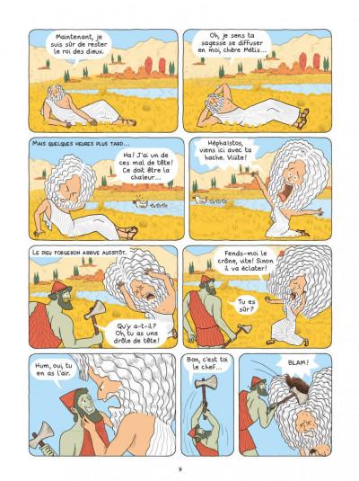 Page 4 La mythologie en BD - Athéna