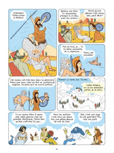 Page 5 La mythologie en BD - Athéna