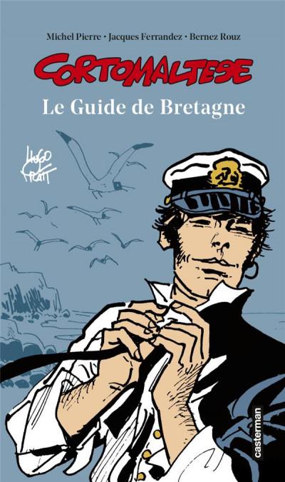 Couverture Corto Maltese - Le guide de Bretagne