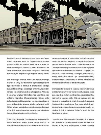 Page 5 Les cinq de cambridge - intégrale